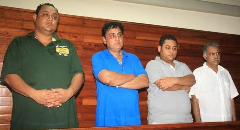 Baktash and Ibrahim Akasha were whisked onto a chartered plane Monday night alongside Vicky Goswami (Indian) and Hussein Gulam (Pakistani) at the Jomo Kenyatta International Airport, bound for the US.