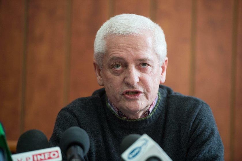 Dyrektor KOZZD dr n. med. Ryszard Wardeński