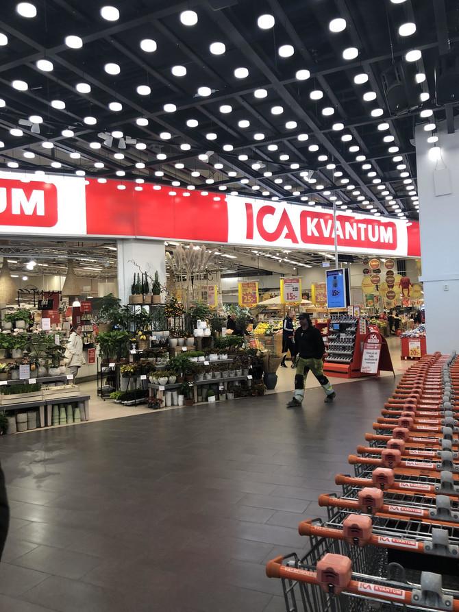Tržni centar u Švedskoj