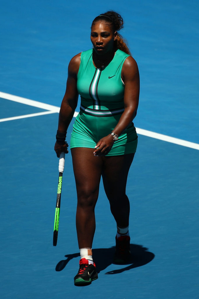 Serena Williams na AO w 2019 roku