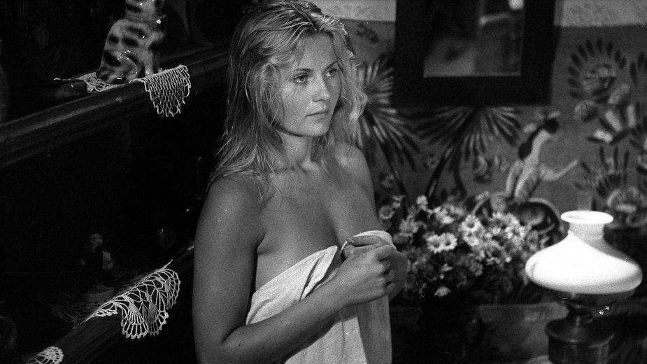 """Grażyna Szapołowska w filmie """"Zapach ziemi"""" (1978)"""
