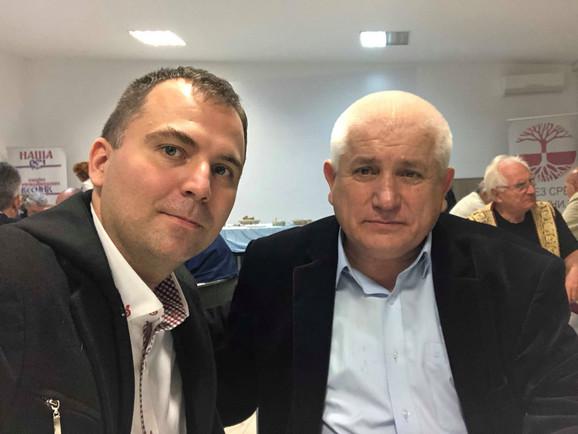 Viktor Lazić i Slavomir Gvozdenović