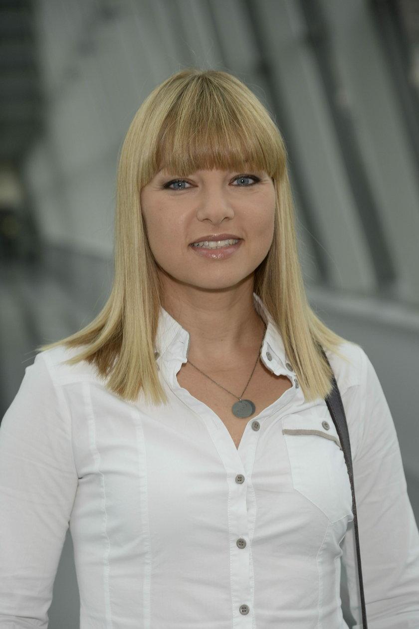 Katarzyna Bujakiewicz z grzywką