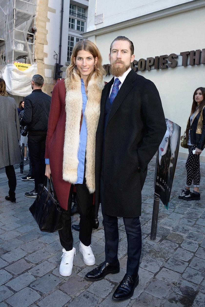 Justin O'Shea i Veronika Heilbrunner