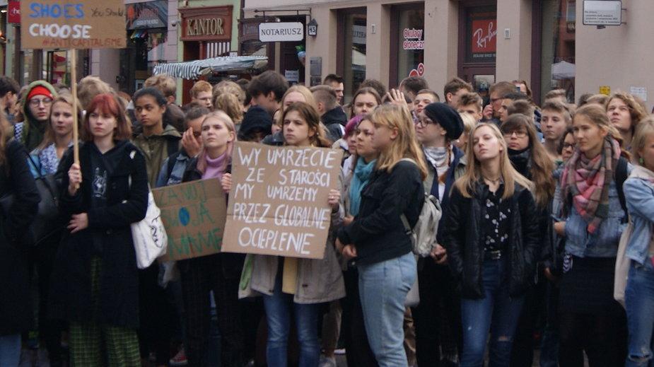 Akcja Młodzieżowego Strajku Klimatycznego