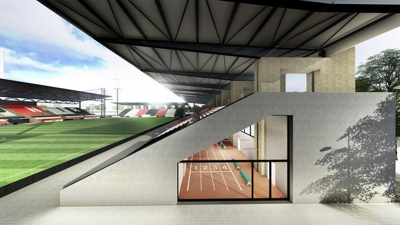 Stadion Polonii Warszawa ma zostać rozbudowany (wizaulizacja)