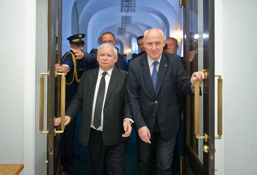Domagają się nagany dla Kaczyńskiego
