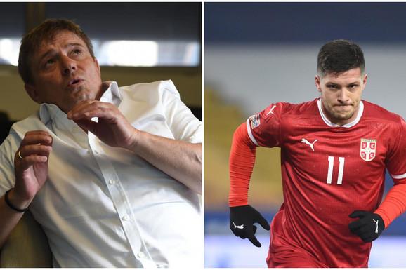 """Do skora ga maltretirao Zidan, """"ratovao"""" je sa Tumbom, a onda... Luka Jović saznao da Piksi postaje selektor i OVAKO REAGOVAO!"""