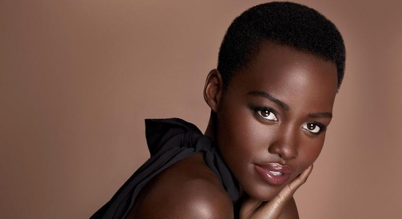Lupita Nyong'o rarely shows skin but she's definitely sexy.