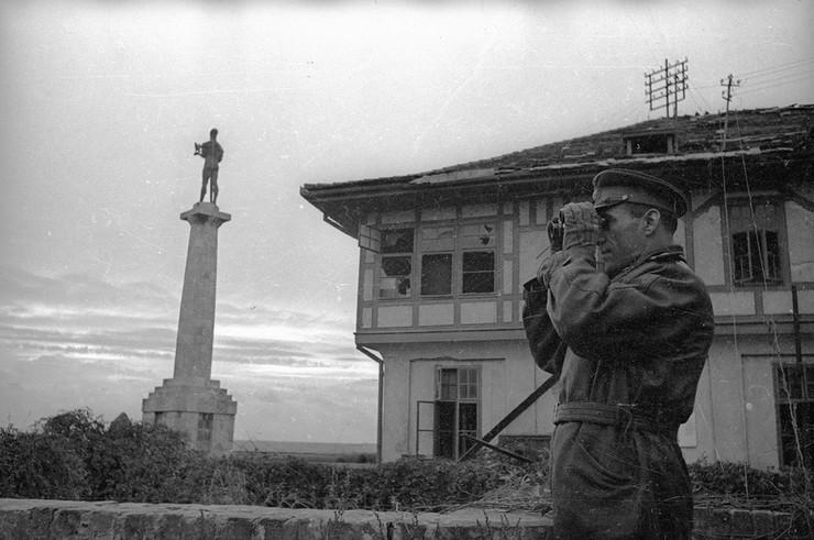 General pukovnik Vladimir Sudec na Beogradskoj tvrđavi