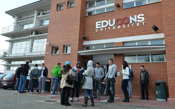 """Fabus je istureno odeljenje """"Educons univerziteta"""