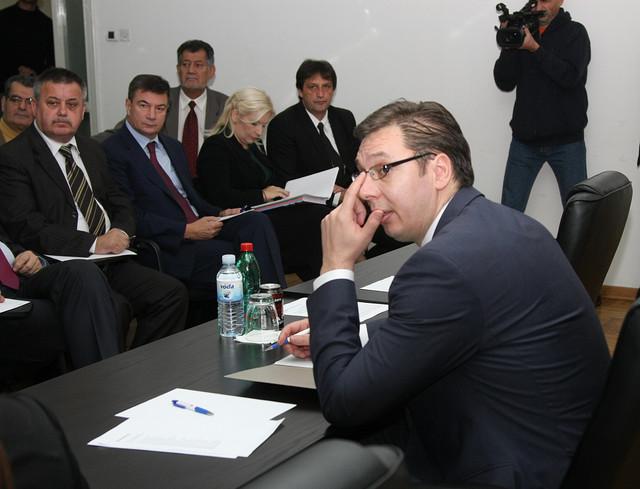 Vučić: Smenjujemo one koji nisu dobro radili