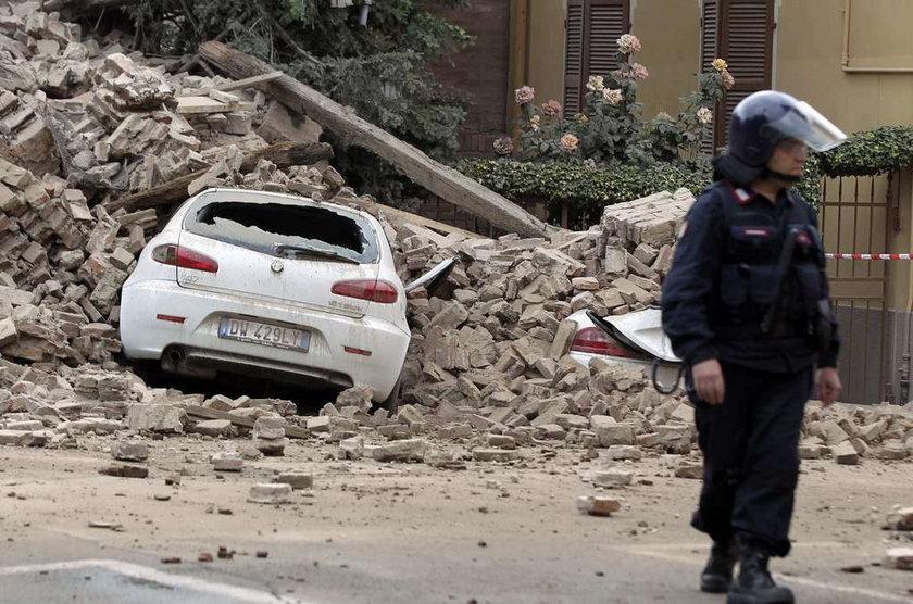 Trzęsienia ziemi we Włoszech. Są ofiary i domy w ruinach!