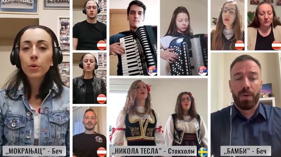Folkloraši širom sveta