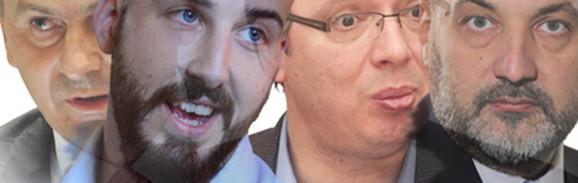 Stamatović, Preletačević, Vučić i Janković