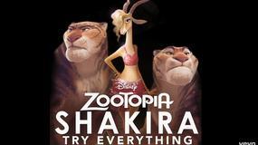 """Shakira prezentuje piosenkę do animacji """"Zwierzogród"""""""