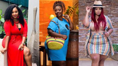 10 Plus Size Kenyan female celebrities making impeccable fashion statements