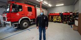 Złodzieje okradli strażaków w sześć minut