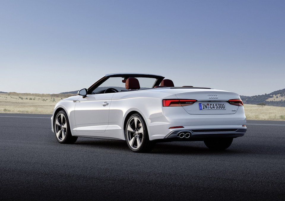 Nowe Audi A5 i S5 Cabriolet