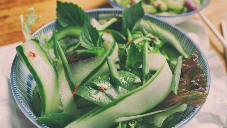 Tajska Sałatka Z Ogórkiem Kuchnie świata Tajlandia Podróże