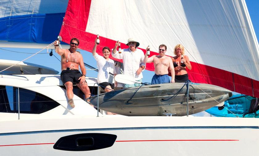 Pijesz piwo na łódce