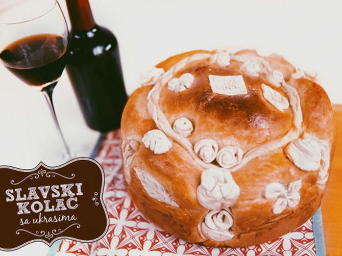 Recept za slavski kolač i uputstvo za izradu ukrasa