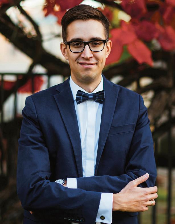 Dominik Kaczmarski, dyrektor departamentu systemu podatkowego w Ministerstwie Finansów fot. Materiały prasowe