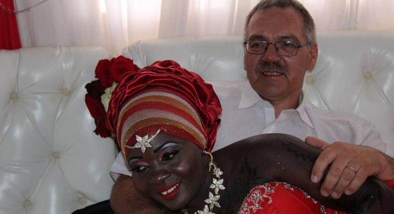 Nyota Ndogo and her husband, Nielsen