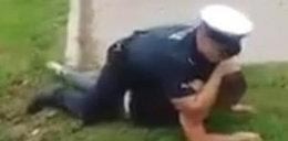 Nagrali, jak policjant walczy z zatrzymanym. Znamy prawdę