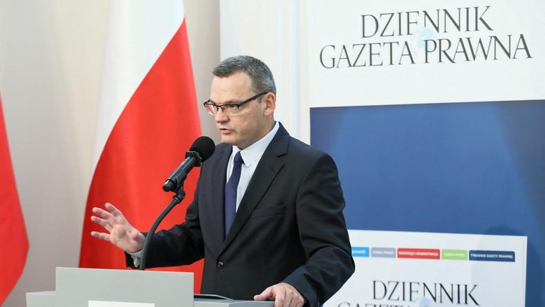 Redaktor naczelny 'Dziennika Gazety Prawnej' Krzysztof Jedlak