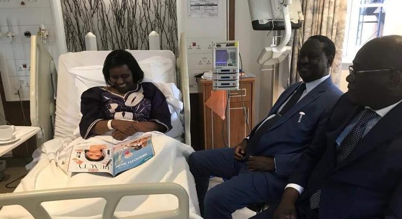 Former Prime Minister Raila Odinga recounts last moments with Bomet Governor Joyce Laboso at Nairobi Hospital ICU