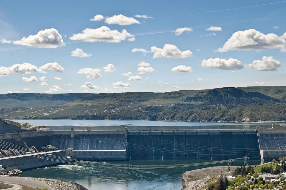 7. Zapora Grand Coulee, stan Waszyngton, USA. Moc: 6 765 MW