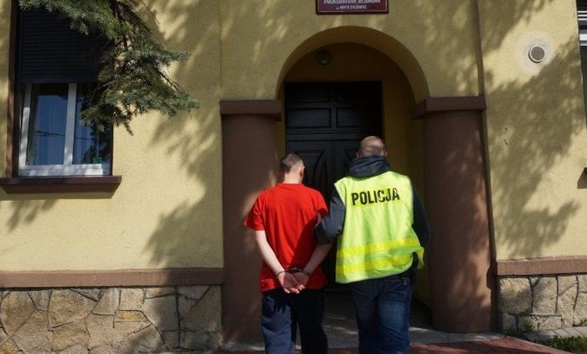 Aresztowani za rozbój