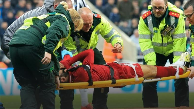 Mohamed Salah was concussed during Liverpool's 3-2 win at Newcastle on Saturday