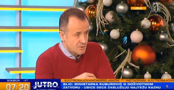 Dr Milan Milenković danas u studiu TV Prva