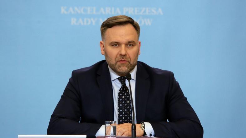 Minister skarbu państwa Dawid Jackiewicz