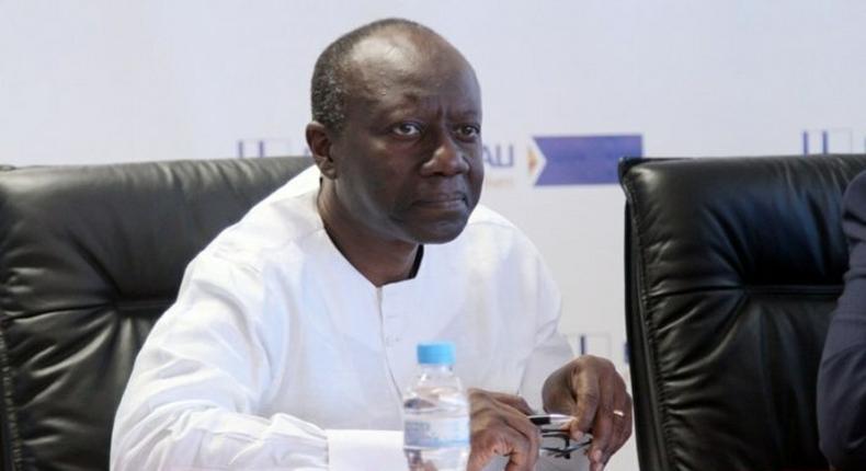 Ghana's Finance Minister, Ken Ofori-Atta