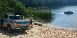 Tragedia nad jeziorem. Nie żyje mężczyzna