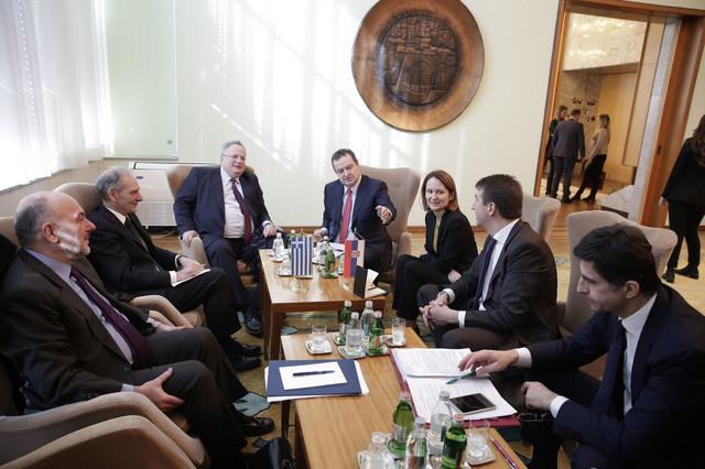 Razgovor srpske i grčke delegacije