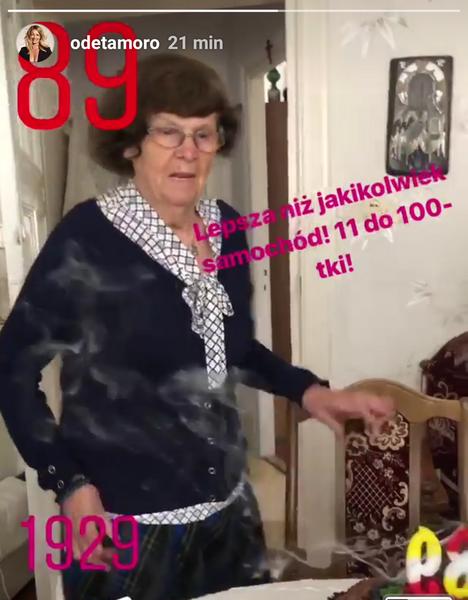 Babcia Odety Moro