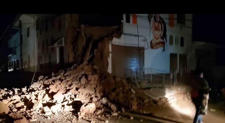 peru zemljotres