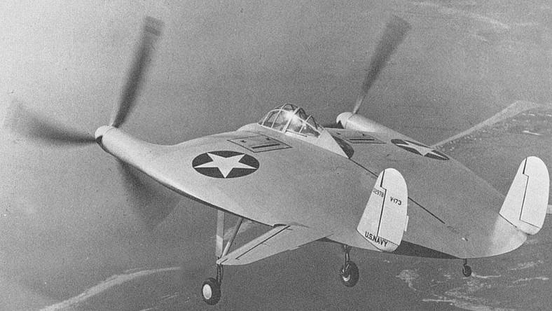 Amerykański samolot odbył swój pierwszy lot w 1942 roku
