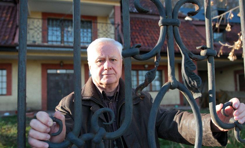 Pan Tadeusz (68 l.) z Gdańska kiedyś był milionerem. Dzisiaj grozi mu bezdomność