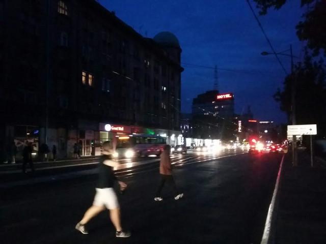 Beograd u mraku