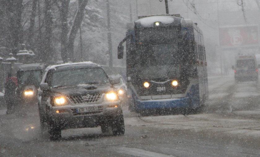 Zima w Krakowie