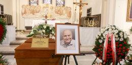 Pogrzeb męża Ireny Santor. ZDJĘCIA