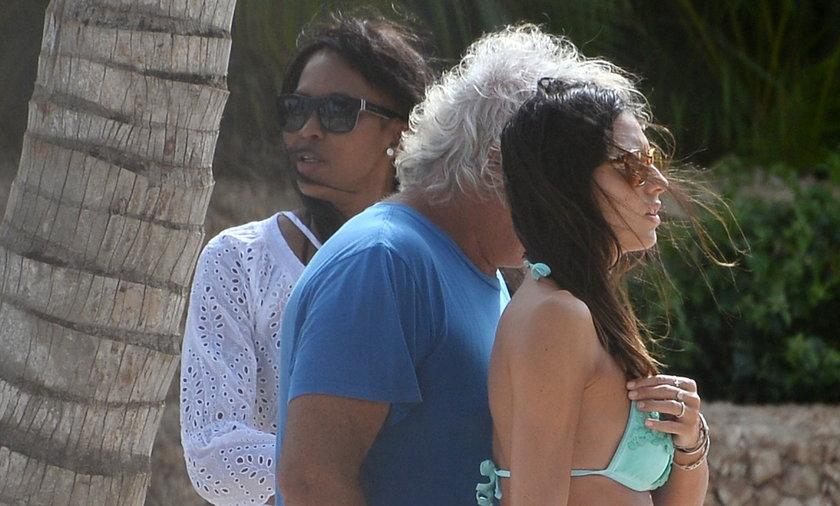 Naomi Campbell i Flavio Briatore