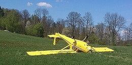 Wypadek samolotu na Podkarpaciu