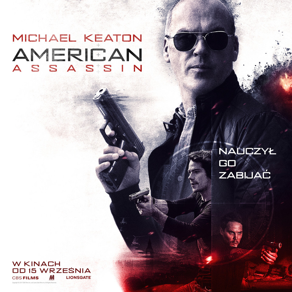"""American Assassin"": plakat"