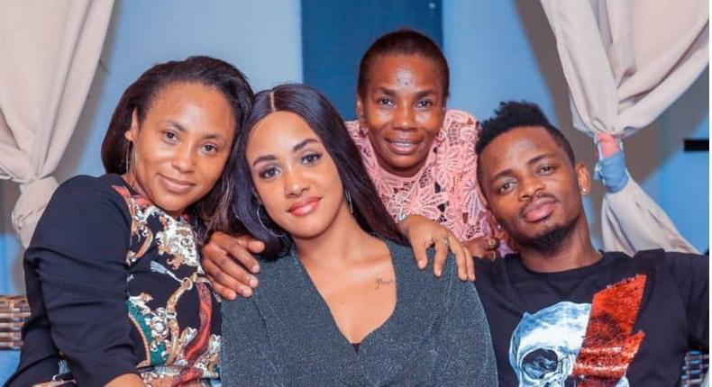 Diamond's mother takes a jibe at women who trap men with pregnancy